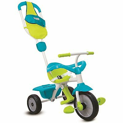 Smart Trike Dreirad Play GL 3 in 1 von 10 - 36 Monate blau/grün TOP