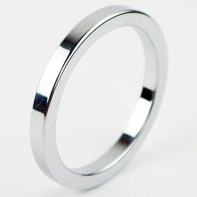 F8 Anneau Cockring Aluminium Diametre 45 Mm Retarde L'ejaculation Gris Metal