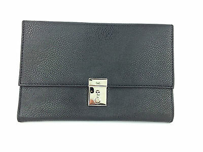 Travel Document Passport Organiser Holder Lockable Wallet Faux Leather Purse