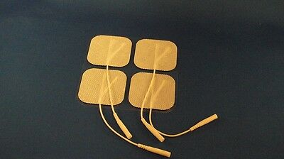 Electrode Pads 40 pcs - FREE SHIPPING -High Quality Electrodes White Cloth2x2