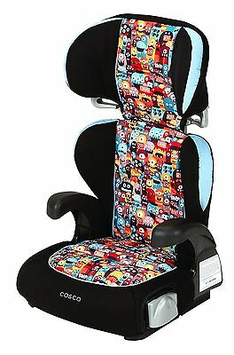 Cosco Pronto High Back Booster car seat - Monsters