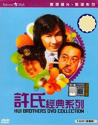 5 DVD Collection Hui Brother The Movie 1~5 End English Subtitle Sam Hui Region 0