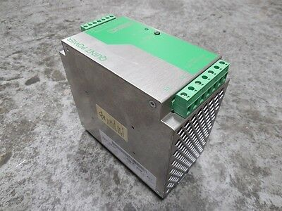 USED Phoenix Contact QUINT-PS-3x400-500AC/24DC/5 Power Supply 24VDC 5A
