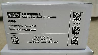 Hubbell - UVPP Universal Voltage Power Pack - 100/277VAC 6.5W Black - NEW In Box