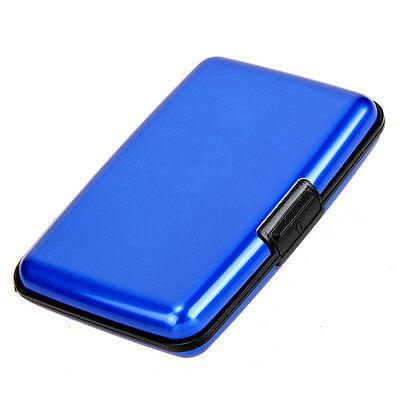 Indestructible RFID Blocking Aluminum Shielded Credit Card Case Wallet Protector