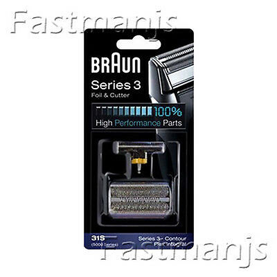 Genuine NEW BRAUN 31S 5000 Series Shaver Replacement Foil + Cutter Set