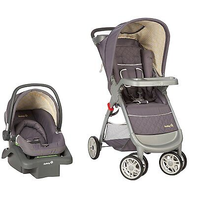 Safety 1st Amble Quad Travel System with OnBoard 22 Infant Car Seat - Bromley