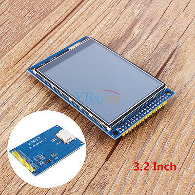 """3.2""""3.2 inch TFT LCD Display Module Touch Panel & SD Card Cage for Arduino"""