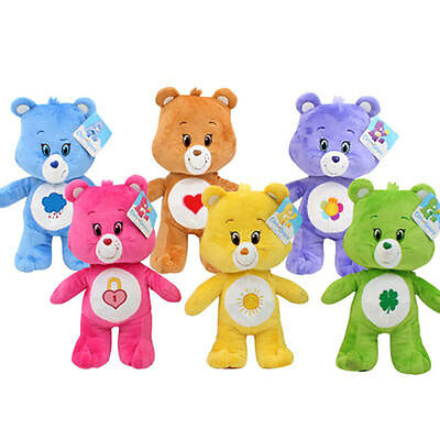 """24pc Care Bears 17"""" Stuffed Animal Plush Toy Pluches LOT Osos Cariñosos ASSORTED"""