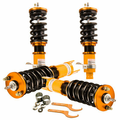 for Honda Civic 88-91 Full Coilover Suspension Adjustable Damper & Height Shocks