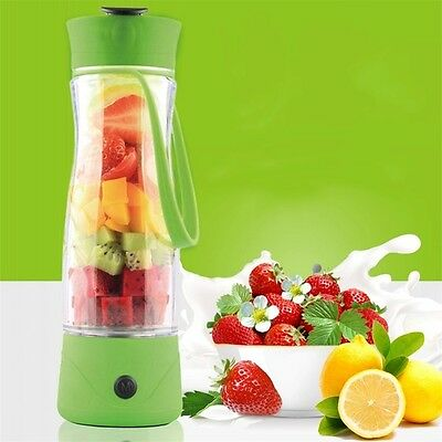 Mini Personal Charge Pattern Juicer Smoothie Blender Fruit Vegetable Juicer XY
