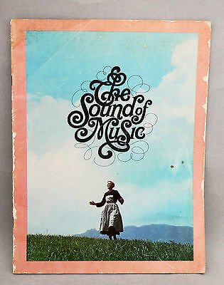 Sound of Music Vintage Movie Programme Program Memorabilia Julie Andrews 1965