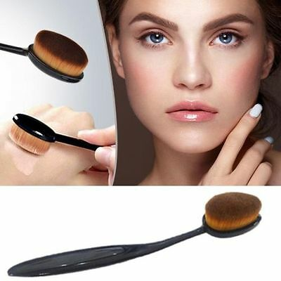 LHL Pro Oval Make up Brush Cream Foundation Powder Contour Cosmetic Kabuki Tool