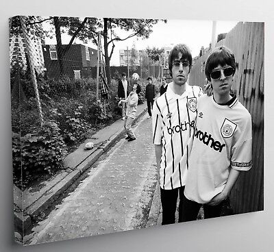 Liam Noel Gallagher Oasis Manchester City Football Canvas Print Wall Art Photo
