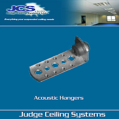 50 x  70mm Acoustic Hangers for Suspended Ceilings (inc FREE P&P)