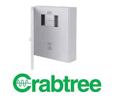 Crabtree 18LS08MR 3 Phase Distribution Board - 8 Way Loadstar 125A TP+N