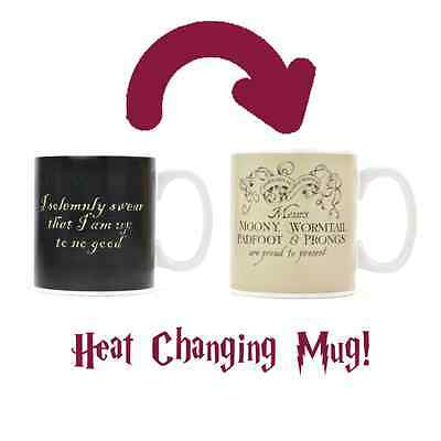 Harry Potter Marauders Map Magic Heat Changing Mug SAME DAY DISPATCH
