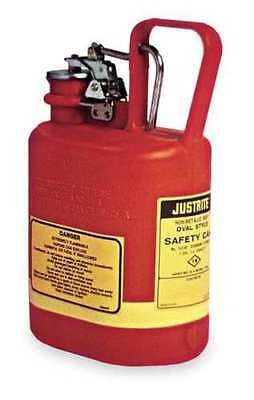 JUSTRITE 14160 Type I Safety Can 1 Gallon Red