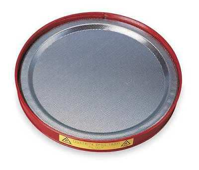 """JUSTRITE 10177 Spill Tray 1-1/4"""" Height  Red 0.25 gallon"""