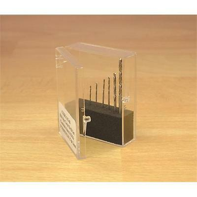 Expo 8 Piece Drill Set 0.5mm to 2mm