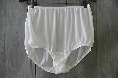 DIXIE BELL White Vintage Style Full BRIEFS Granny Sissy PANTIES 8