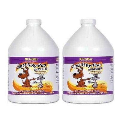 Unscented 2 Gallons - Anti Icky Poo Odor Remover (Aip-Un-G2)