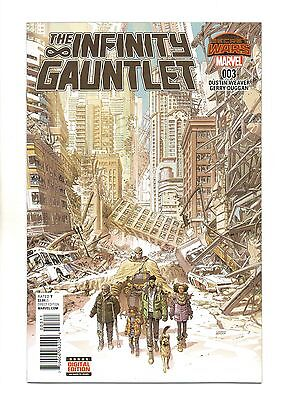 Infinity Gauntlet Vol 2 No 3 Oct 2015 (NM) Marvel, Secret Wars, 1st Print