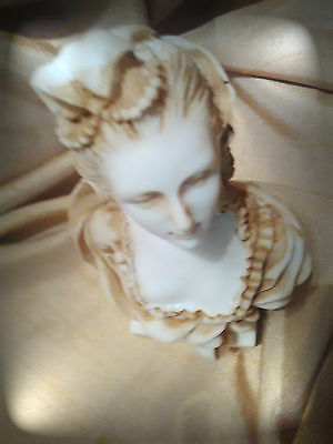 MAJOR SALE -  Bust of French Lady in Antique Style