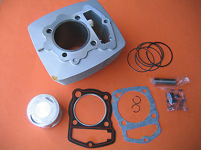 Cylinder Piston Rings Kit 196CM3 63.5mm Bore 200cc Honda ATC 200 XL185 XL200