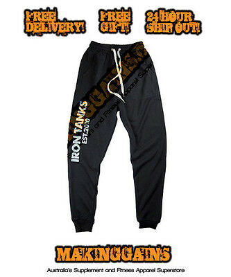 Iron Tanks Mens Orion Gym Pants - Only The Cheapest @ MAKINGGAINS