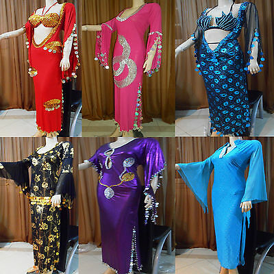 dc12fca6813ea Women Egyptian Belly Dance Baladi / Saidi Galabeya Dress MULTIPLE  MODELS,Costume