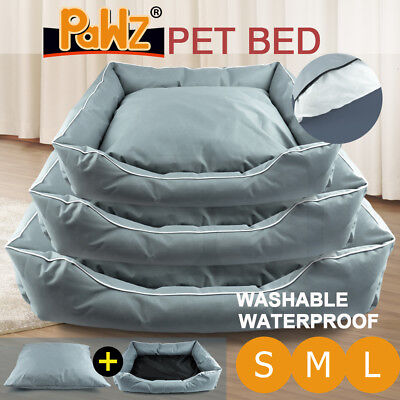 Pet Bed Mattress Dog Cat Pad Mat Cushion Cotton Soft Summer Cool Washable S M L