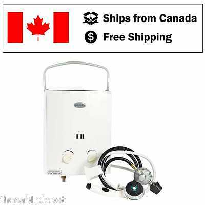 Marey 5L Portable Tankless Water Heater Shower Kit