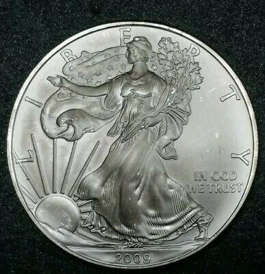 2009 ☆ USA Silver American Eagle Dollar ☆ Silver Bullion Coin 1 Troy Ounce .999