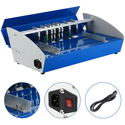 "18""460mm Metal Electrical Creasing Machine Creaser Scorer Perforating Paper UK"