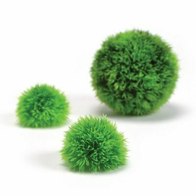 Biorb Easy Plant Green Topiary Moss Balls Aquarium Decoration 3 Pack Reef One