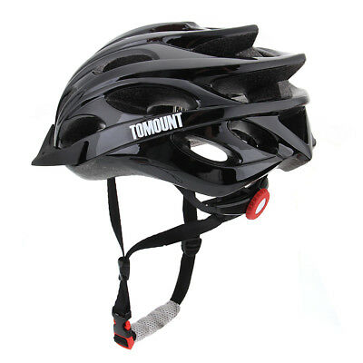 Unisex MTB Mountain Road Bicycle Bike Cycling Sports Safety Helmet Carbon Black