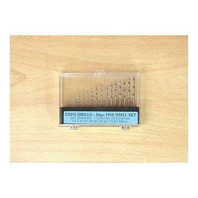Expo 16 Piece Drill Set 0.5 - 2.0mm - 11516