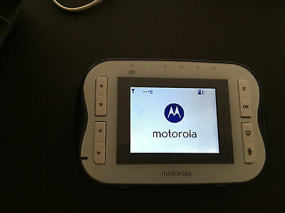 Motorola MBP41s Digital video baby monitor PARENT UNIT ONLY