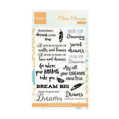 Marianne Design Clear Stamps - Dreams CS0975