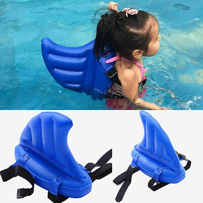 SwimFin Shark Fin Swiming Aid Blue For kids YW