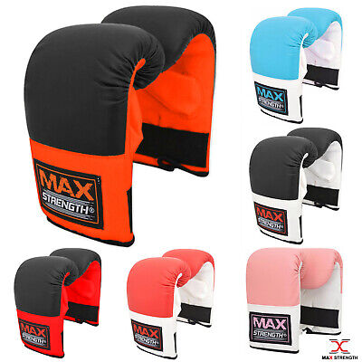 Pro Bag Mitts Boxing Gloves MMA UFC Muay Thai Training Grappling Punch Sparring