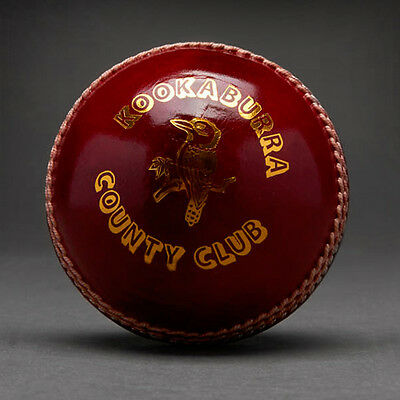 6x Kookaburra County Club Cricket Balls Size:Mens (AK042)