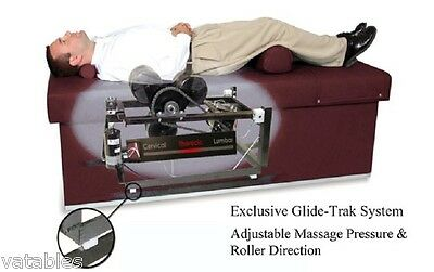 Chiropractic Roller Massage Intersegmental Table Quantum 400 Hand Held Remote