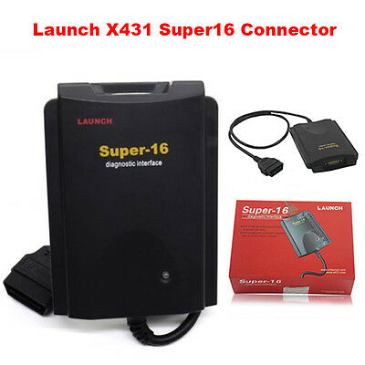 Genuine Launch X431 Super-16 Connector Interface For X431 GX3 SUPER SCANNER