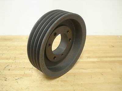 "V-Belt Pulley, 4-5V1090E, 4 Groove, 10.90"" O.D."