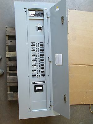 Siemens 600 Amp Main Breaker Panel 480/277vac 42 Space LXD63B600 SED42LX600EBS
