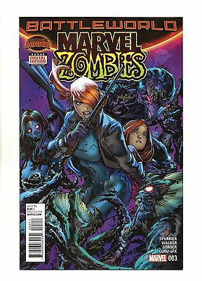 Marvel Zombies Vol 2 No 3 Oct 2015 (NM) Marvel, Secret Wars, 1st Print