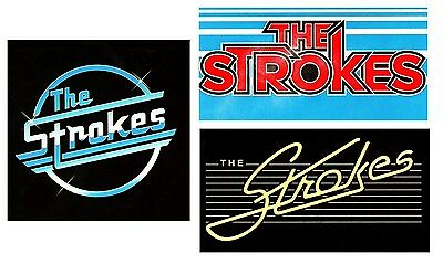 THE STROKES Future Present Past 2016 Ltd Ed 3 Stickers Lot +FREE Rock Stickers!