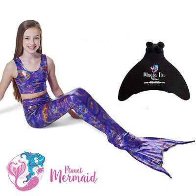 MERMAID TAIL by PLANET MERMAID – SWIMMABLE MERMAID TAIL WITH MONOFIN